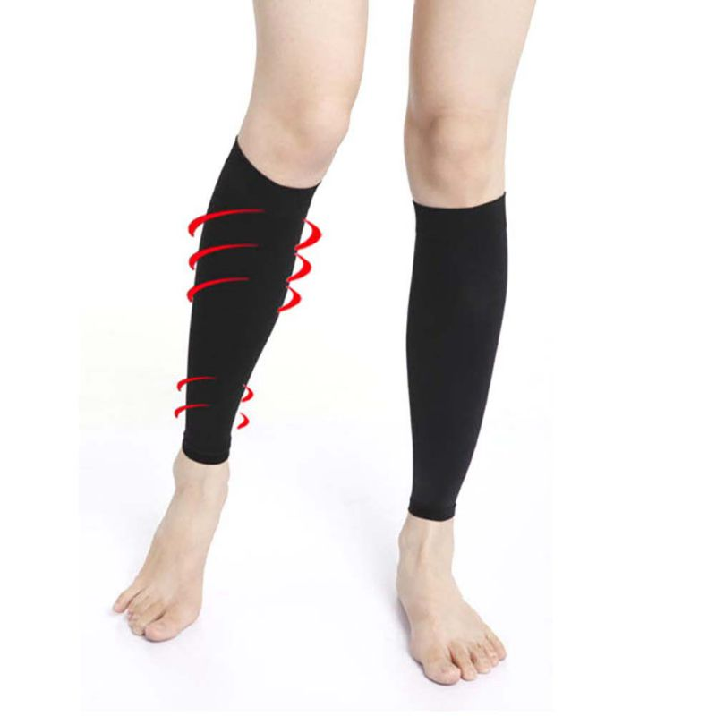 Stocking 1 Pair Elastic Relieve Leg Calf Sleeve Varicose Vein Circulation Compression Stocking Care Leg Support Ankle Stocking