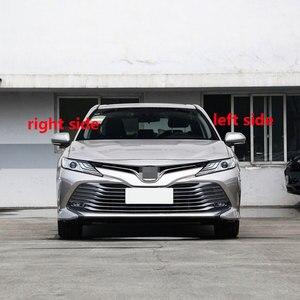 Image 2 - Toyota Camry 2018 için 2019 otomatik kanat kapı yan ayna kapağı kapağı dikiz aynası konut Case Shell