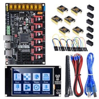 цена на BIGTREETECH SKR PRO V1.1 Control Board TFT35 Touch Screen + 6PCS TMC2209 TMC2208 UART 3D Printer Parts VS SKR V1.3 MKS GEN L