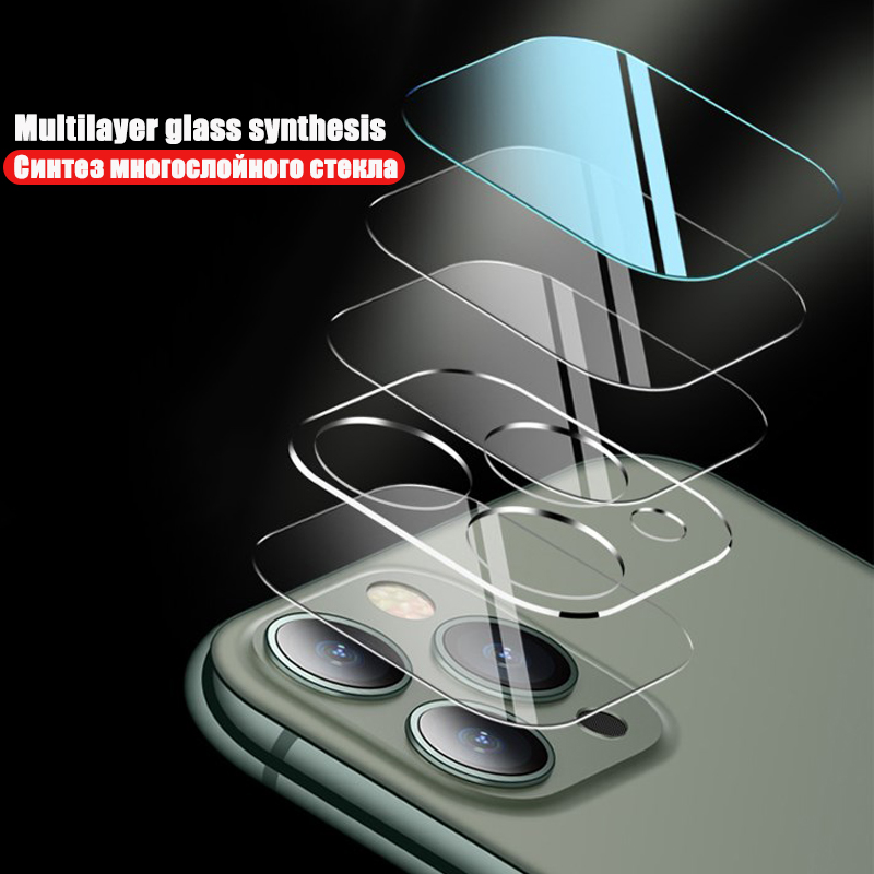 100D Camera Protection Glass For iPhone 11 Pro XS Max XR X Full Cover Lens Screen