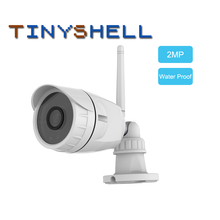 2MP IP Camera Wifi Outdoor Camera IP66 Waterproof Security Surveillance Camera IR-Cut CCTV Bullet IP Camera