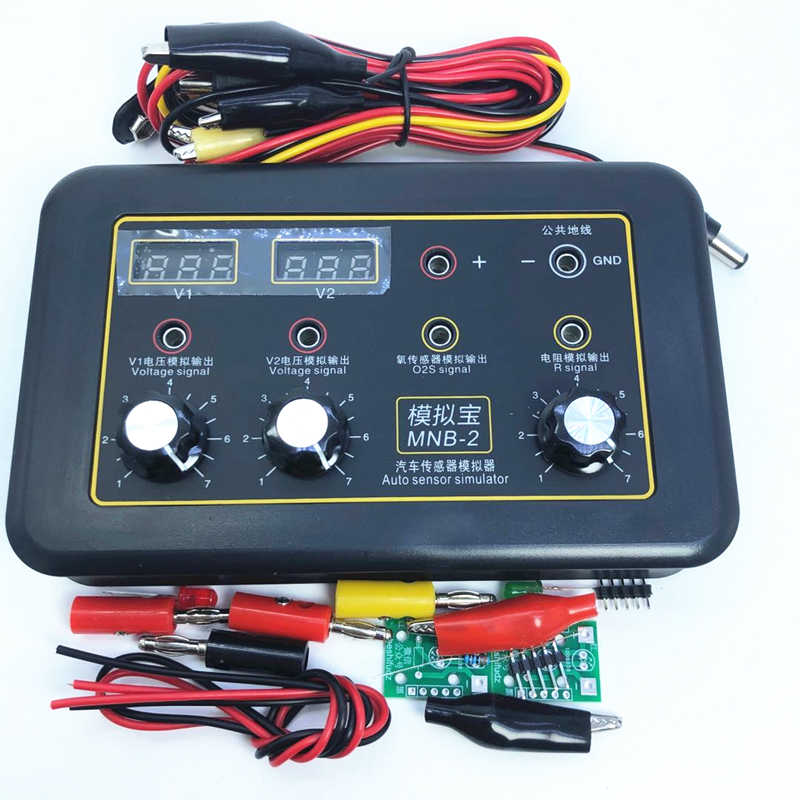 Automobile Signal Sensor Tester Analog Box Crankshaft Signal Computer Maintenance Tester Signal Treasure Meter