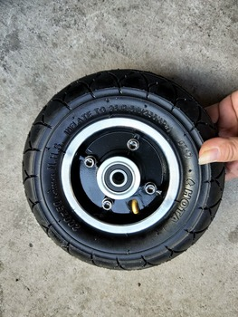 200x50 Tyre Inflation Electric Vehicle Aluminium Alloy Wheel Pneumatic Tire FOR  Electric Scooter Tyre Wheel Hub 8 Scooter electric scooter snow tire ice tyre for xiaomi m365 m365 pro scooter non pneumatic solid tire shock absorber non slip tyre
