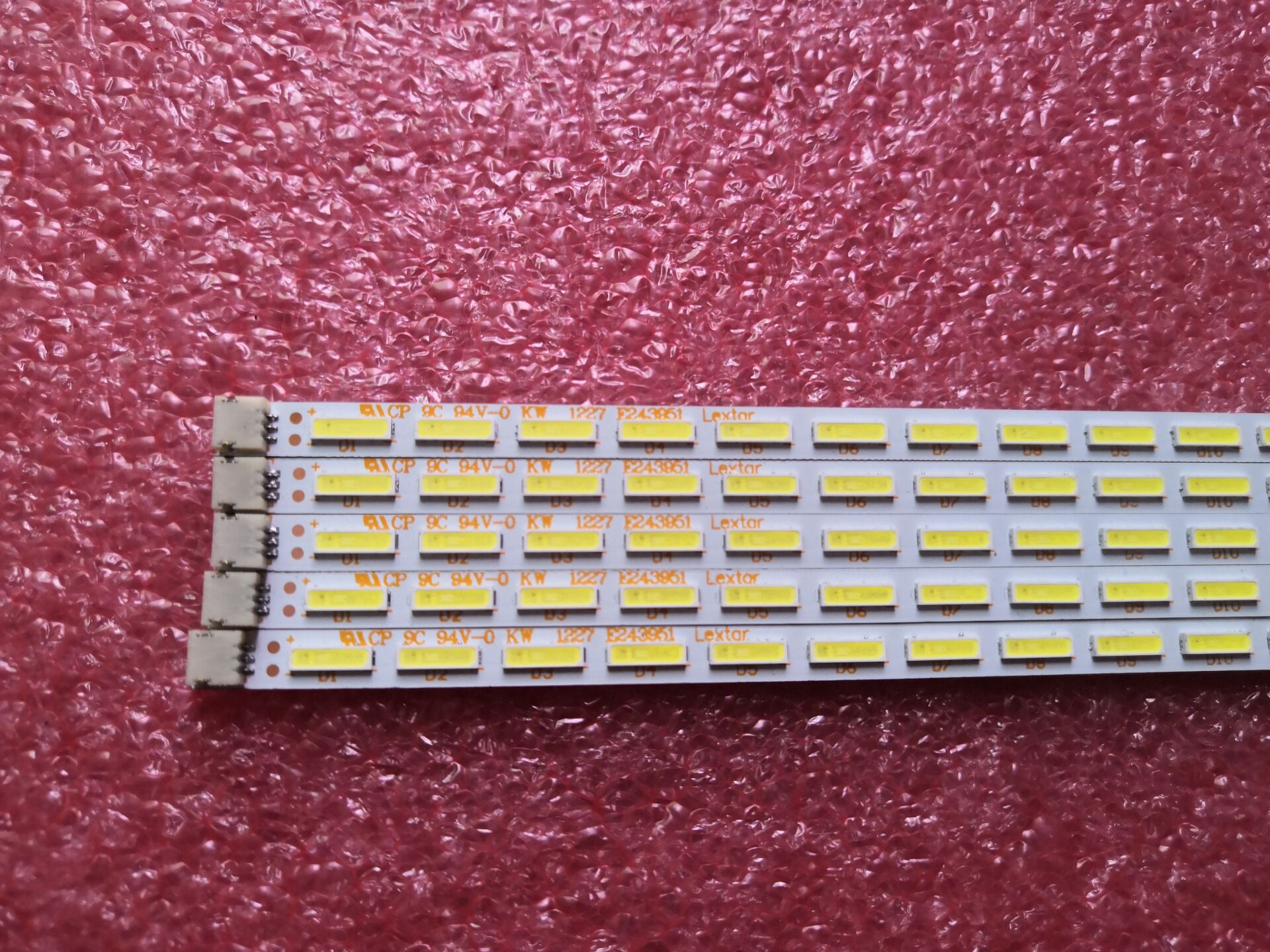 2 Pcs/Lot 100% New LCD TV Backlight Bar For Hai Er LE32A10 Article Lamp 37TM6315000008 TY-120723D SH-2 44 LEDs 410mm