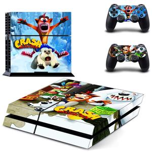 Image 3 - Crash Bandicoot N Sane Trilogy PS4 Stickers Play station 4 Skin Sticker Decal For PlayStation 4 PS4 Console & Controller Skins