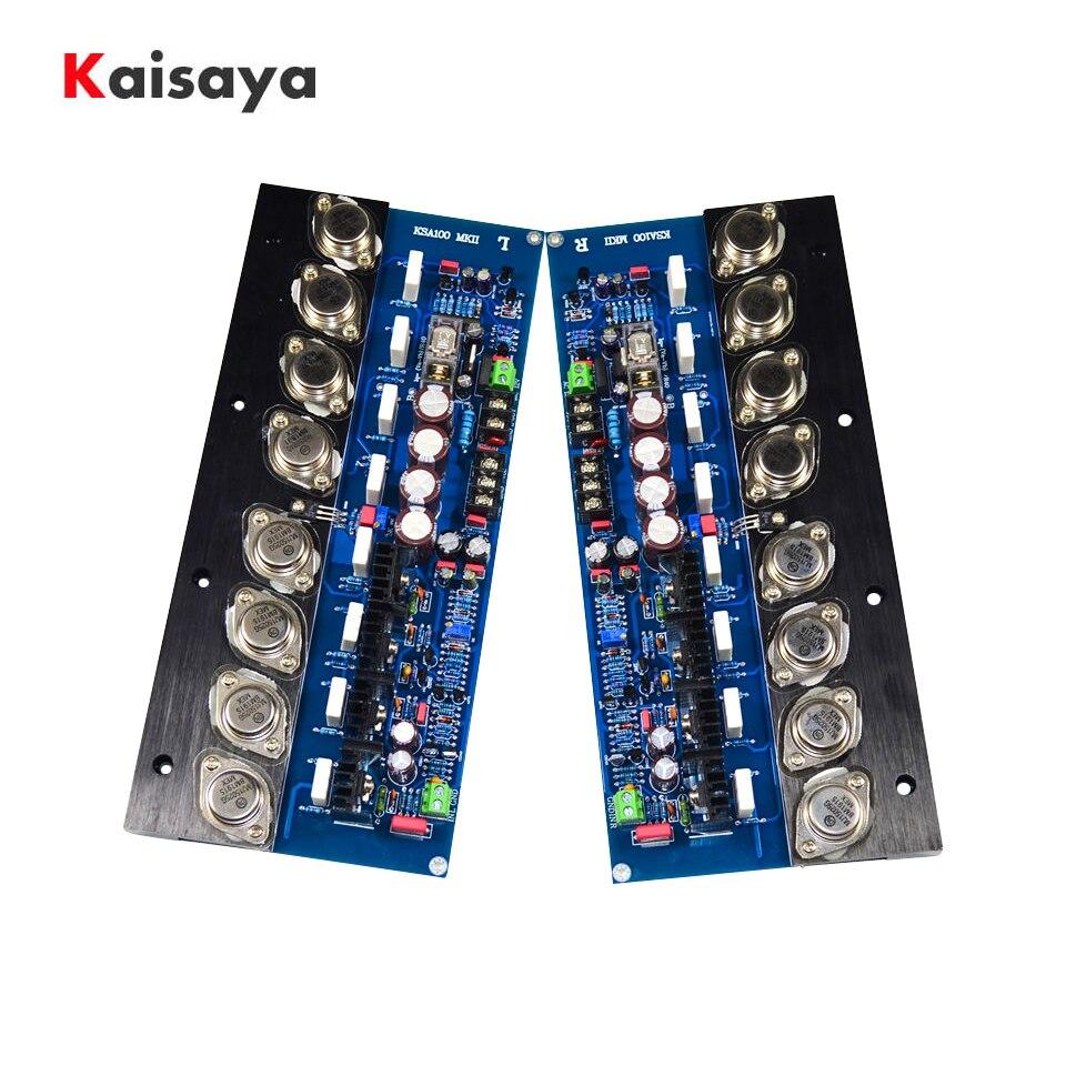2 pièces KSA100 MJ15024G MJ15025G or scellé Tube amplificateur carte 100Wx2 HIFI stéréo classe A amplificateur Home Sound cinéma T1372