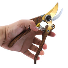 FIRMOR Профессиональная деревянная ручка сплав обход обрезка сада ручные секаторы Острые Ножницы прочный Обход секатор