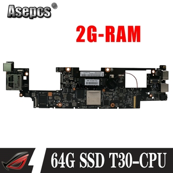 Original For Lenovo Yoga 11 laptop motherboard With T30 CPU 2G RAM 64G SSD FRU 90002143 11S11201291 MB 100% Tested Fast Ship