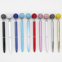 Crystal Ballpoint Pen Colorful Creative Student Gifts and Office Stationery   -