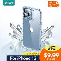 ESR-funda transparente de vidrio templado para iPhone 13 Pro Max, protector de lente completo, cubierta trasera transparente para iPhone 13