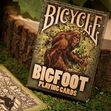 1 Deck Bicycle BigFoot Playing Cards Poker Size USPCC Magic Cards New Sealed Collectable Cards Magic Tricks Props for Migician original bicycle poker bicycle silver poker bicycle playing cards good guality theory11 bicycle playing cards