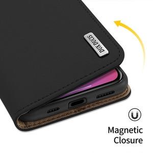 Image 5 - DUX DUCIS Portefeuille En Cuir Véritable de Luxe Pour Iphone X XS Max XR 6 7 8 Plus 12 11 Pro 11Pro Max Titulaire de la Carte De Couverture Confortable