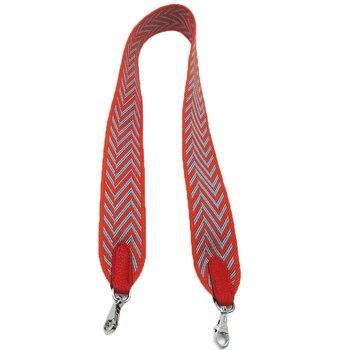 Nuevas bolsas de hombro de lona Diseño de Rayas para mujeres  correa de hombro personalizada de cuero cinturones de bolso de moda para mujeres