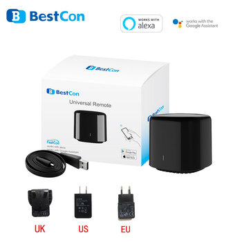 Najnowszy Broadlink 2020 Bestcon RM4C mini uniwersalny 4G Wifi IR Mini pilot kompatybilny z Alexa asystent Google dla AC tanie i dobre opinie CN (pochodzenie) Ready-to-go Rohs Miga Ride on MAGNETIC Gniazdo Universal remote control 12 kanałów i up For TV iOS 9 0 Android 4 0 and above