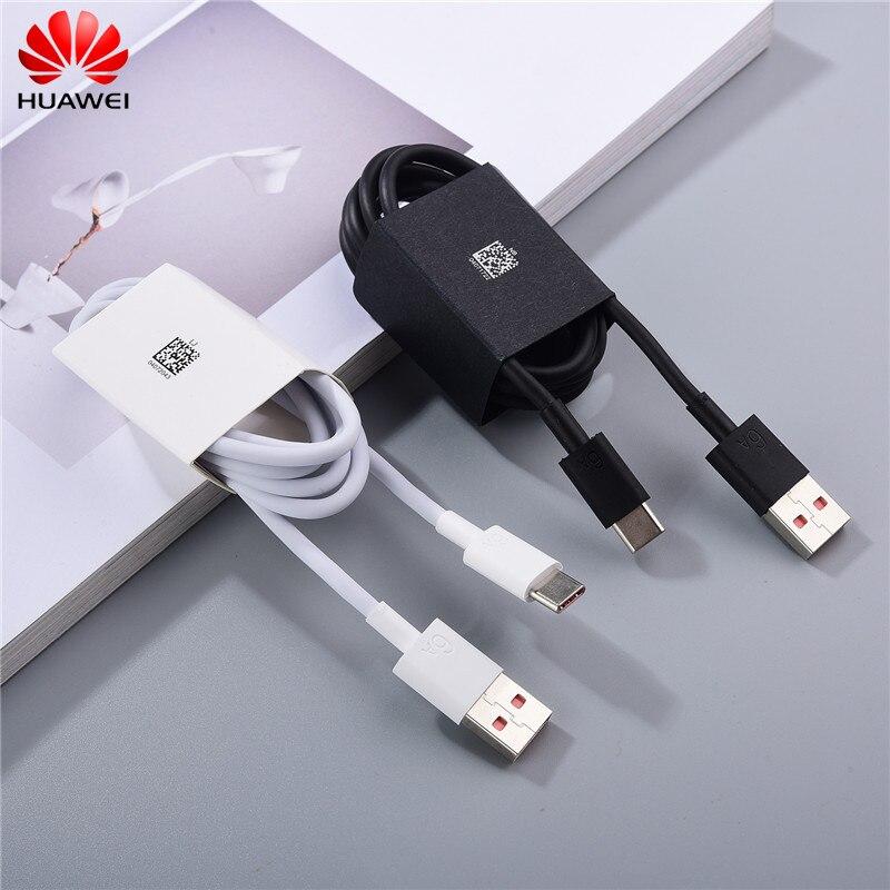 Оригинальный зарядный кабель Huawei 6A, 100 см, USB Тип c, кабель для быстрой зарядки для P40 P30 Mate 40 30 30E Pro Honor 30 30S V40 V30 20