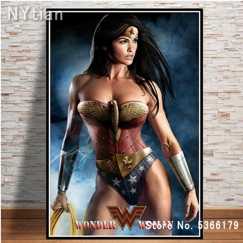 "Hot 2017 Movie New DC Comic Wonder Woman Wall Scroll Art Poster 02 8/""x12/"""