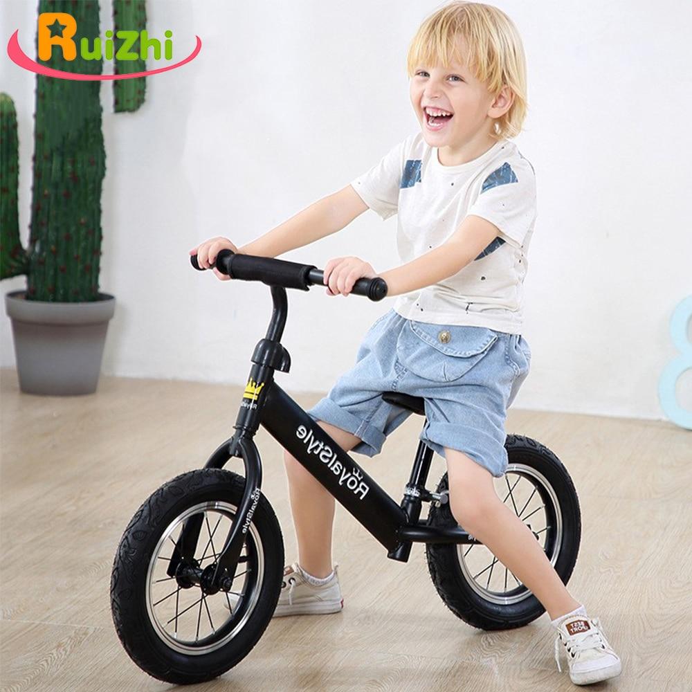 Ruizhi Children Aluminium Alloy Wheel Balance Slide Car No Pedal Bike Baby Scooter 1-3-6 Years Old Kids Outdoor Sport Toy RZ1190