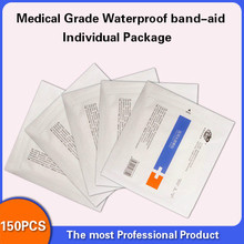 Medical grade band-aid Waterproof Breathable Cushion Adhesive Plaster Wound Hemostasis Sticker First Aid Bandage Emergency Kit