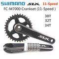 Shimano DEORE SLX FC M7000 1x11-скоростной шатун 32T 34T 170 мм 175 мм для горного велосипеда передняя цепная колесо с BB-MT800