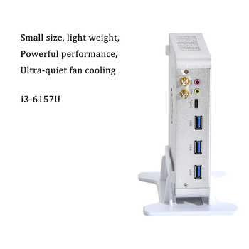 New IntelCore 6th Gen Mini PC i3 6157U Intel iris 550 win10 DualCore 4Threads 2.4G+5G+Bluetooth Nas Freeshipping pc