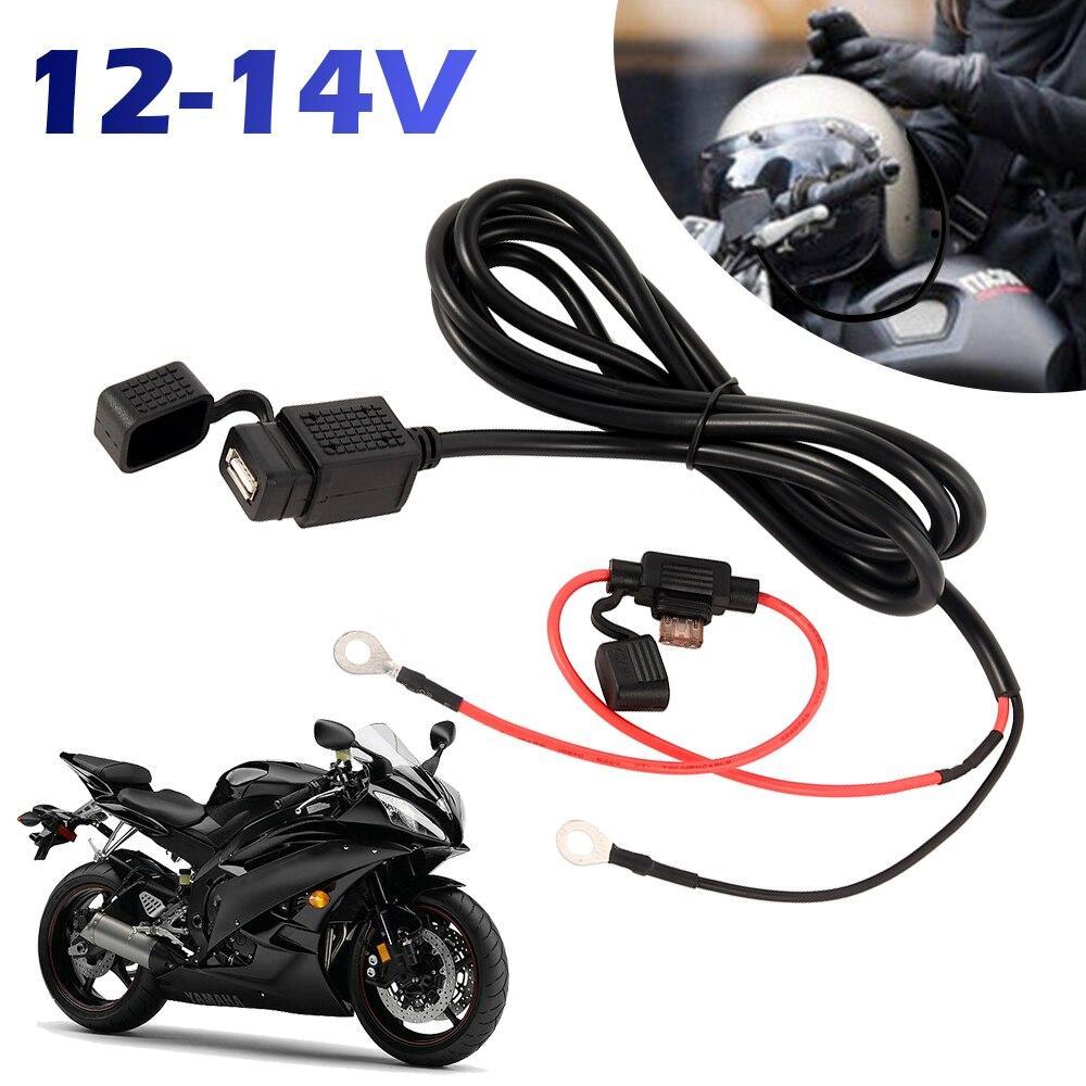 12V Водонепроницаемый мотоцикл руль Зарядное устройство 5V 1A/2.1A мотоцикла USB адаптер Питание гнездо для Мобильный телефон USB Зарядное устройс...