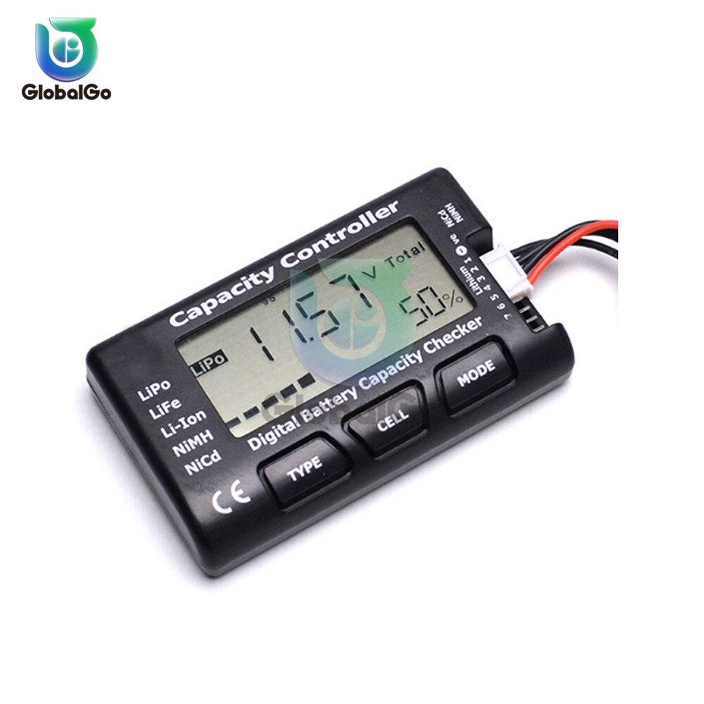 Цифровой вольтметр контроллер емкости батареи проверка для Nicd NiMH LiPo LiFe Li Ion RC батареи сотового метр тестер напряжения проверка|Измерители напряжения|   | АлиЭкспресс