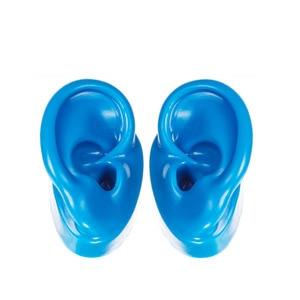 Image 5 - 1 זוג צבעוני דגם הדגמה אוזן עבור מכשירי שמיעה אוזן תצוגת חינוך דגם