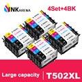 INKARENA T502XL 502 502XL полный картридж с чипом совместимый для epson XP5100 xp5105 WF2860 WF2865 принтеры