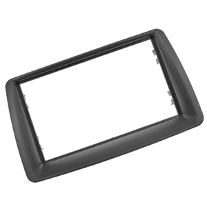 Image 3 - 2 Din Radio Fascia For FIAT Panda 2003  2012 Double din frame Stereo Panel Dash Mount Installation Trim Kit Frame Plate Bezel