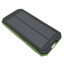 Universal Portable Ultra-thin 20000mAh Solar Mobile Power Bank Flashlight Phone Power Supply With Compass XHT-910