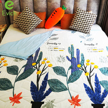 Quilt Comfortable EVICH Cotton Air-Conditioning Summer Cool JK200 Multi-Pattern Washed