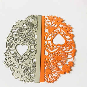 Image 5 - cutting dies cut die NEW2020  mold Lace wedding Heart lace Scrapbook paper craft knife mould blade punch stencils dies