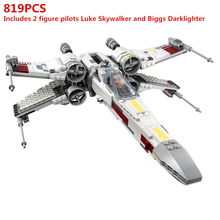 Star Wars X-wing Starfighter Building Blocks Bricks Classic Outer Space Super hero Movie Model Kids Toys Compatible 75218 lepin 05045 star battle genuine series the b starfighter wing educational building blocks bricks toys legoing 10227 gifts model