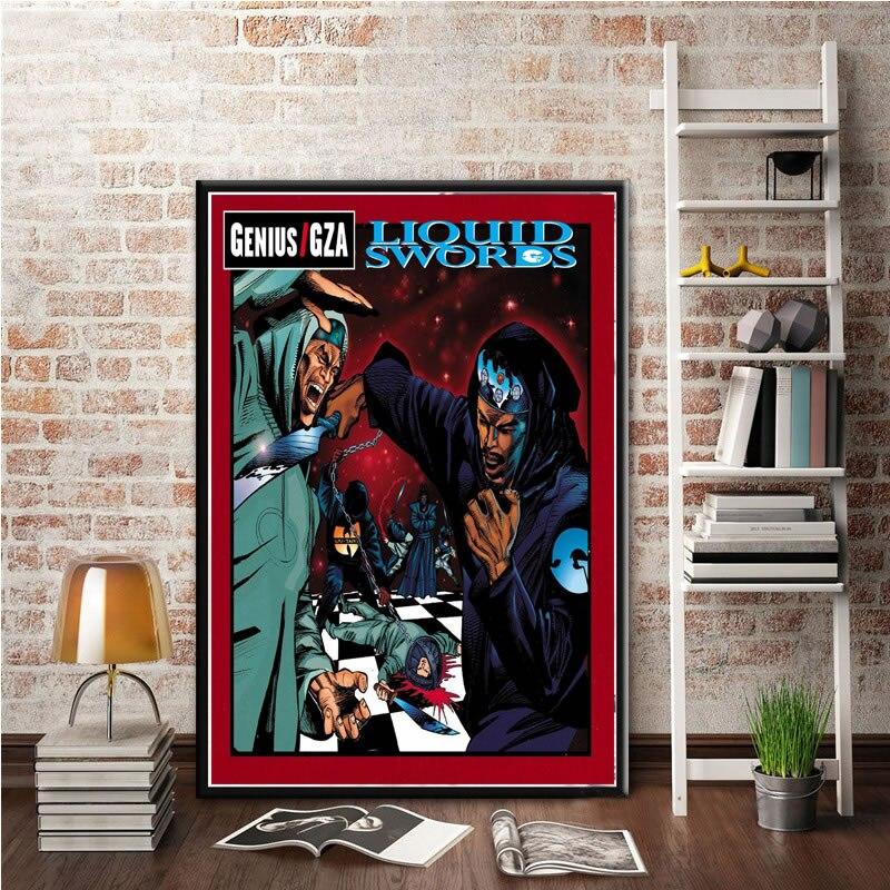 Wu-Tang Clan The Saga Continues poster wall decor photo print 24x24 in