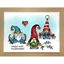 Clear Stamps THE MERRY DWARFS Merry Christmas! Transparent Stamp for DIY scrapbooking Album Crafts Cards Decoration New 2019