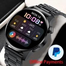 2021 nowych mężczyzna inteligentny zegarek zegarek połączenia Bluetooth IP67 wodoodporny sport Fitness tętno zegarek dla HUAWEI Android IOS inteligentny zegarek tanie tanio DELSUPPE CN (pochodzenie) Na nadgarstek Zgodna ze wszystkimi 128 MB Krokomierz Rejestrator aktywności fizycznej Rejestrator snu