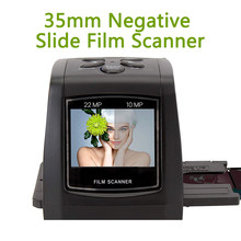 Alta resolução mini conversor negativo da imagem de digitas do varredor da foto do conversor do filme da corrediça de 35mm 135mm 2.4
