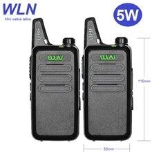 1/2/3/4/5 pces wln mini walkie talkie 5w KD C1 uhf portátil caçoa o rádio presunto cb rádio transceptor com usb carregando presentes de natal