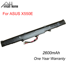 Фото - PINZHENG A41-X550E Laptop Battery For ASUS X450 X450E X450J X450JF X751M X751MA X751L X750JA A450J A450JF A450E Replace Battery new original laptop replacement li ion battery for asus x450e a450v k550d x751l a41 x550e 15v 44wh