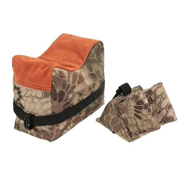 FS Sniper Shooting Bag Gun Front Rear Bag Rest Target Stand Rifle Support Sandbag Bench Unfilled Outdoor Hunting Accessories