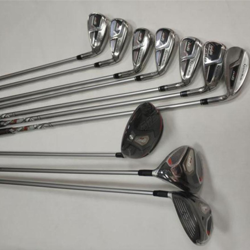 2019 M6 Golf Complete Set M6 Golf Clubs Driver + Fairway Woods + Irons+putter Graphite/Steel Shaft With Head Cover No Bag