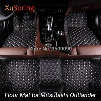 Car Floor Foot Mat Pad Full Coverage Carpets Case Cushion Car-styling for Mitsubishi Outlander GF 2016-2019 2.0/2.4L 5/7seats