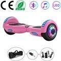 Ховерборд 6 5 дюймов розовые светодиодные колёса электрический скутер умный самобалансирующийся самокат баланс доска для детей Подарки