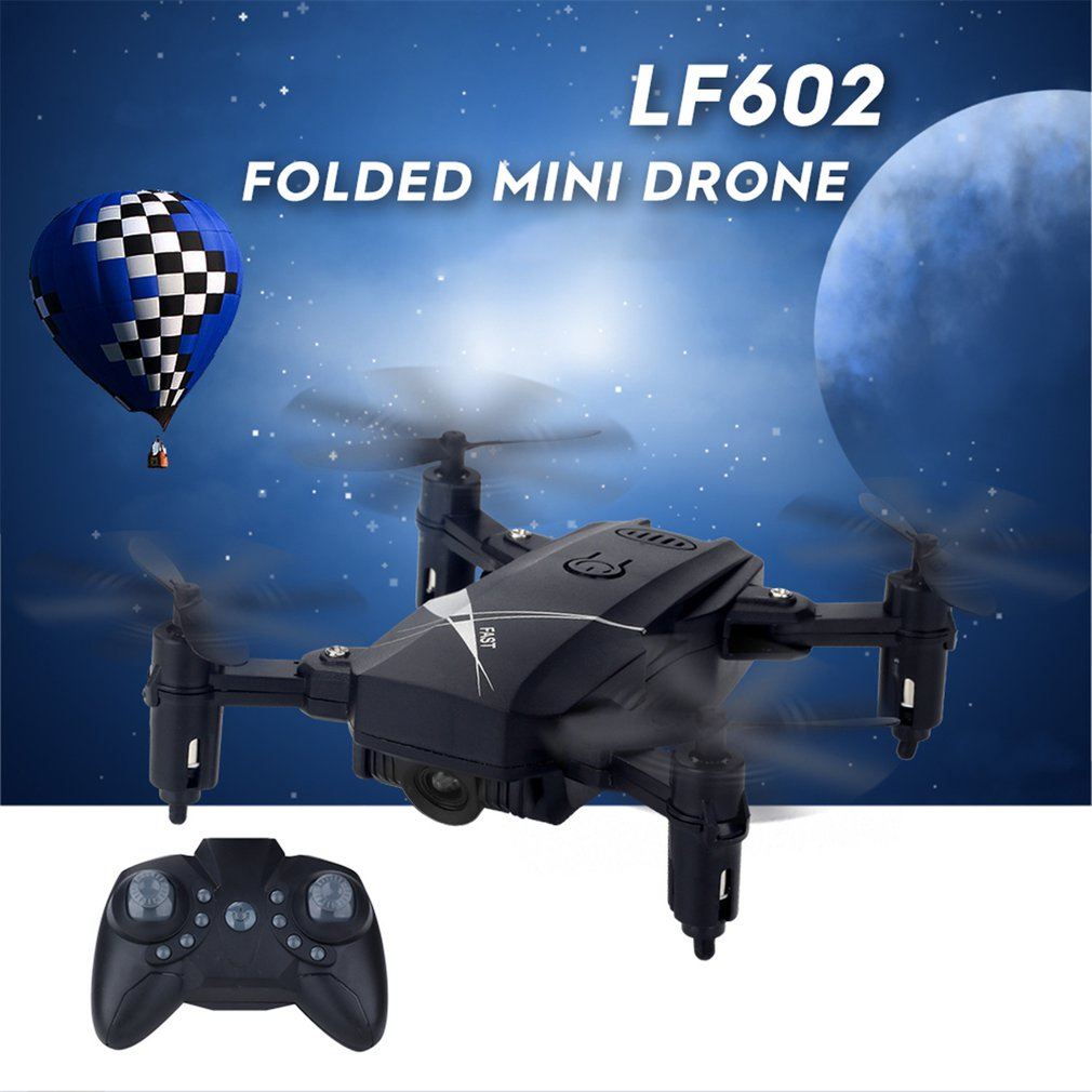LF602 FPV Foldable RC Quadcopter Drone with 720P HD Wifi Camera and Altitude Hold Function 1