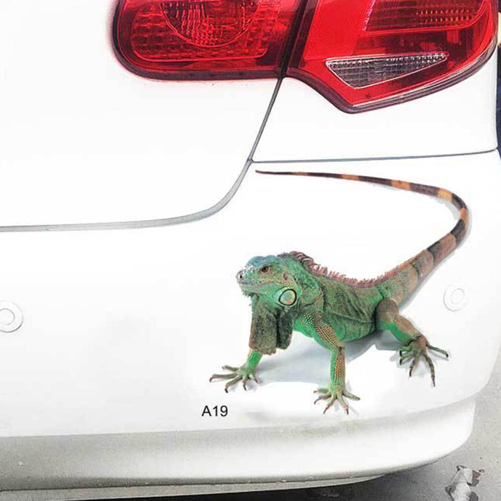3D Spider Scorpion Lizard Crawling Car Sticker for Vehicle Window Hood Decals