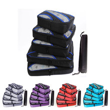 Nylon Foldable Travel Bags Hand Luggage Large Capacity Men's Travel Bag Waterproof Men Women Folding Travel Bag Packing Cubes