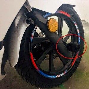 Image 3 - Motosiklet aksesuar ön çatal tekerlek düşme koruma çerçeve kaymak Anti çarpışma koruyucu HONDA PCX 125 150 FORZA 125 300 250