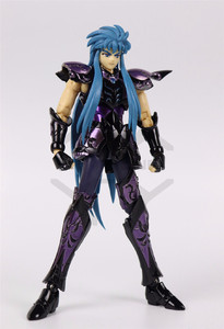 Image 5 - COMIC CLUB INSTOCK chuanshen CS Saint Seiya Specters gold saint EX Aquarius Camus action figure Cloth Myth Metal Armor