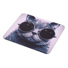 Cat Picture Anti-Slip Laptop PC Mice Pad Mat Mousepad For Optical Laser Mouse Wholesale Drop Shipping(China)