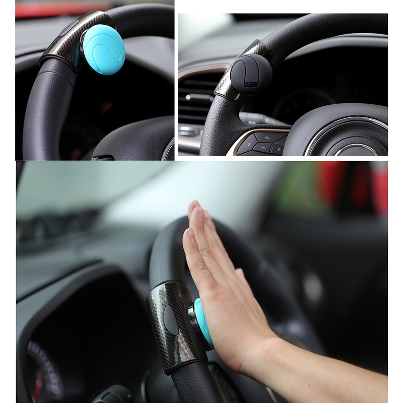 Car Steering Wheel Booster Ball Spinner Knob Power Handle Ball Hand Control Ball Wheel Strengthener Auto Spinner Knob Ball